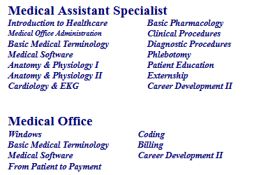 medical assistant specialist